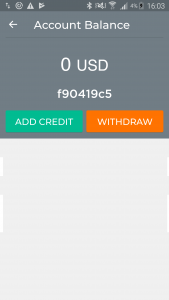 add credit using Oveit Pay app