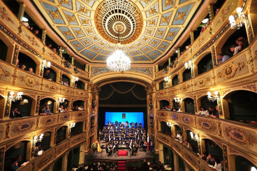 Picture of Manoel theater in Malta