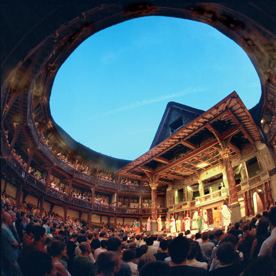 Picture of Shakespeare's theater, London.