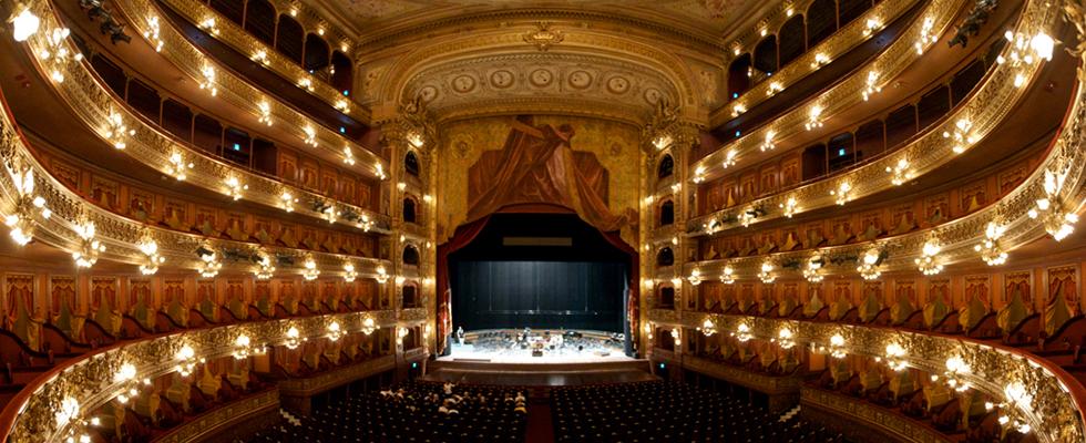 Auditorium of Teatro Colon, Buenos Aires.