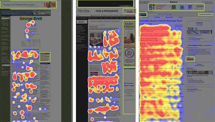eyetracking study heatmap