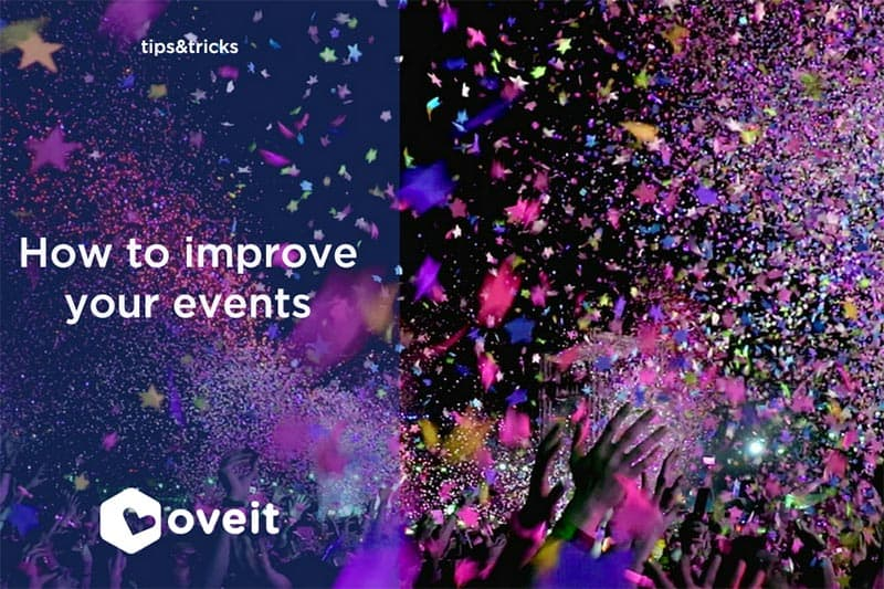 Improve your event