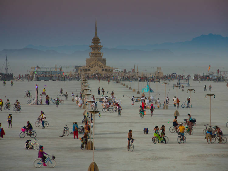 Burning man instalations