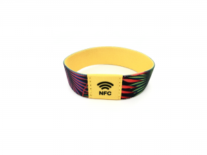 colorful NFC wristband