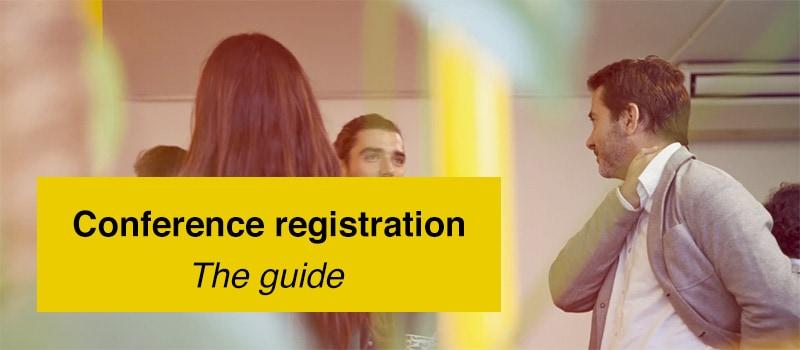 Conference registration guide