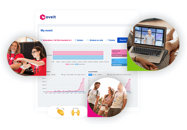 Oveit - free event registration software