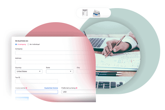Automated invoicing for event registrations